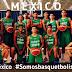 #COCABAU16 : México arranca aplastando a El Salvador 116-52