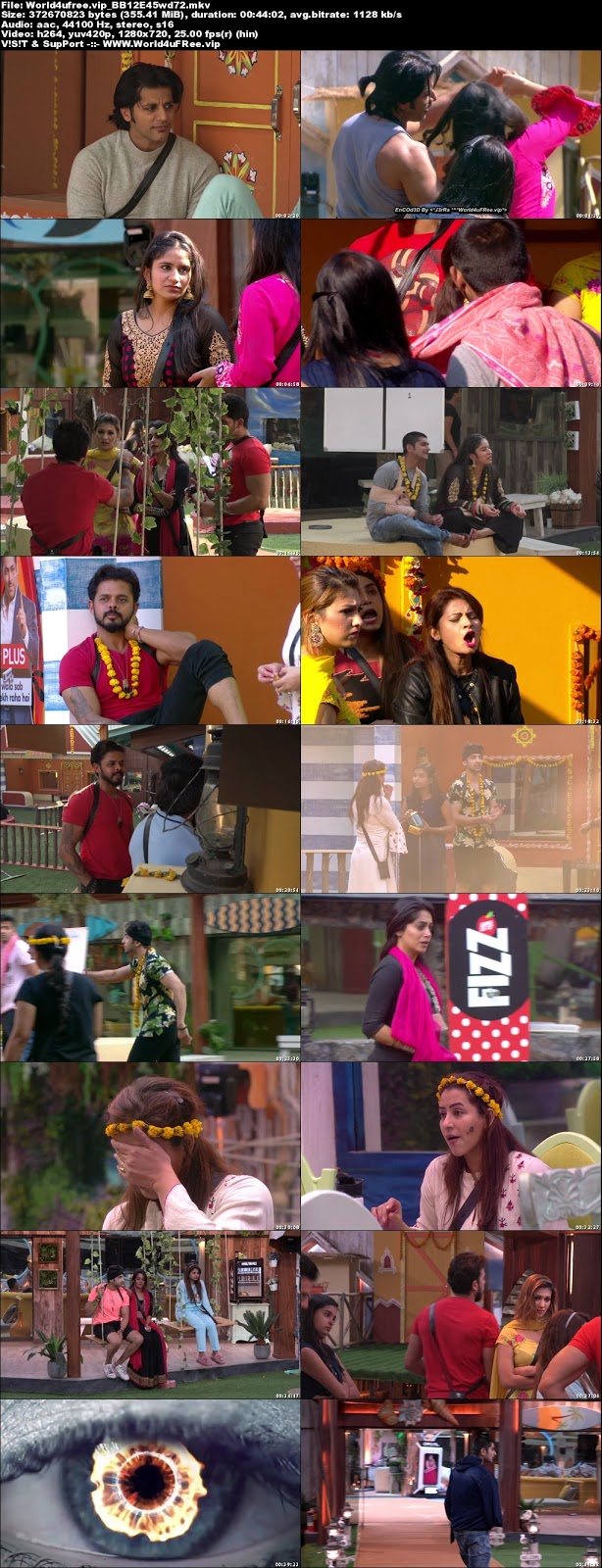 Bigg Boss 12 Episode 45 31 October 2018 720p WEBRip 350Mb x264 world4ufree.vip tv show Episode 45 31 October 2018 world4ufree.vip 300mb 250mb 300mb compressed small size free download or watch online at world4ufree.vip