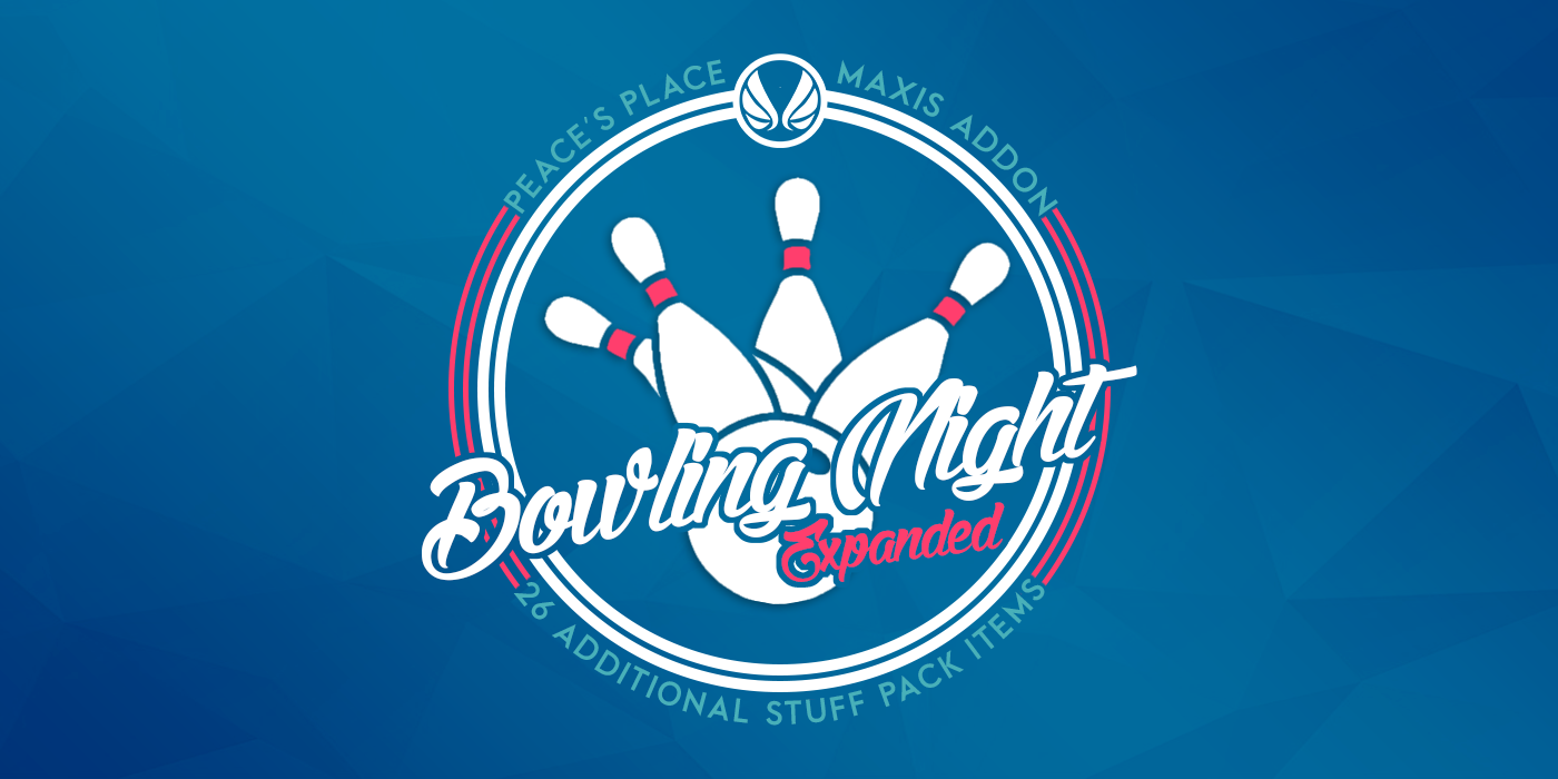 Simsational Designs: Updated: Bowling Night Expanded - Stuff Pack Addons