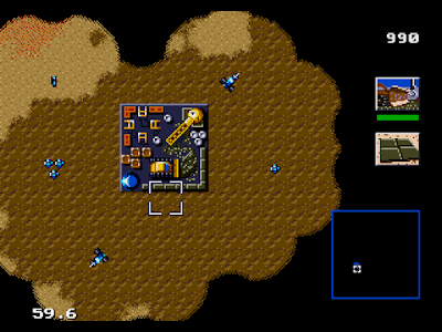 【MD】沙丘魔堡原版+Hack加強修改版,超經典的即時戰略遊戲!