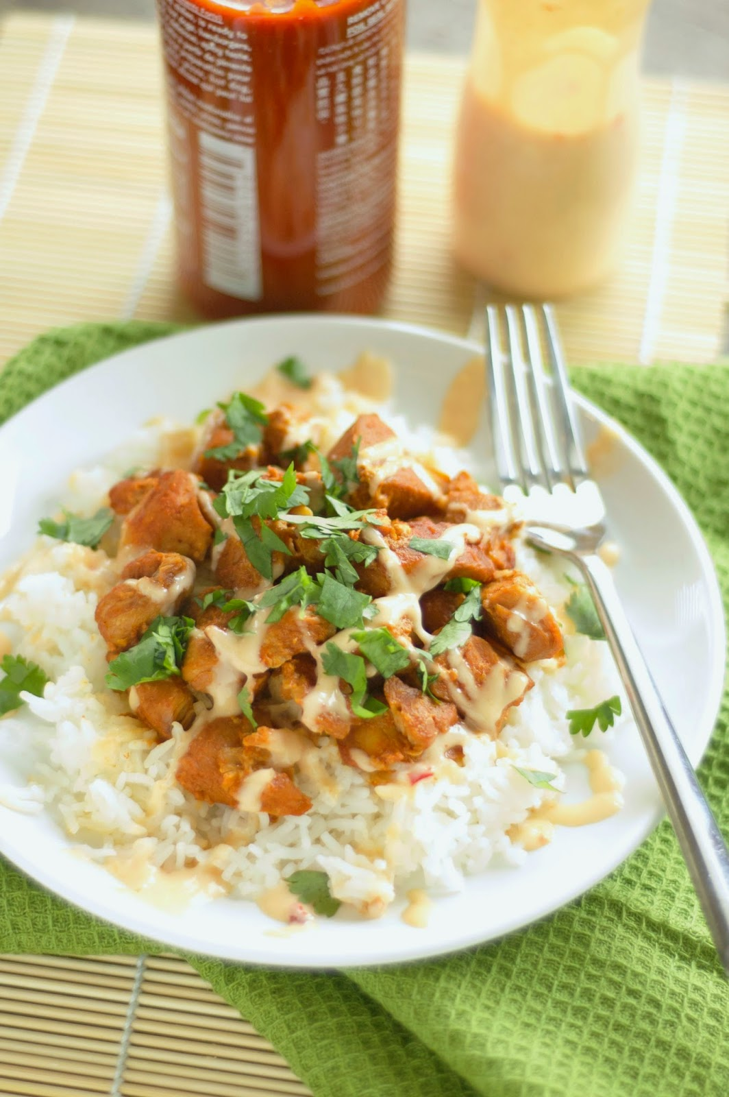 CrockPot Honey Sriracha Chicken from Slow Cooker Gourmet found on SlowCookerFromScratch.com
