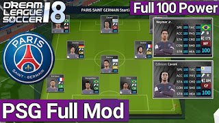 تحميل لعبة Dream League Soccer 19 اصدار 6.0.0 مهكرة بفريق بريس سانجيرمان