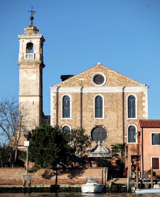 The church of Santa Maria degli Angeli, Murano
