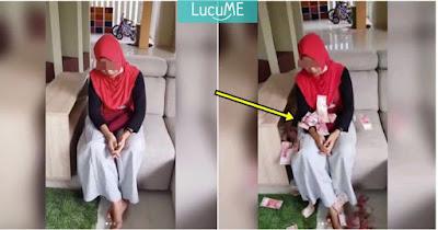 Cewek Ini Dituduh Pelakor, Video Dilempar Duit Segepok Sama Istri Sahnya Viral