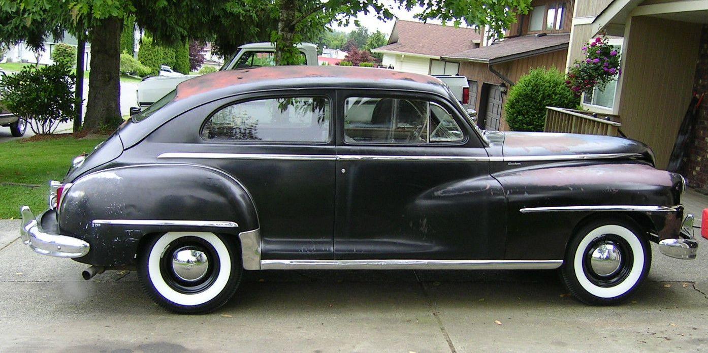 All american classic cars 1948 desoto custom 2 door for 1948 ford two door sedan