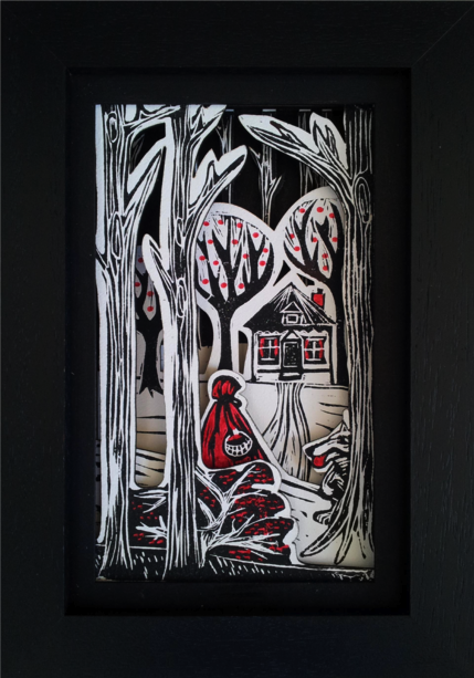I Love Handmade Little Red Riding Hood Storybox By Storybox