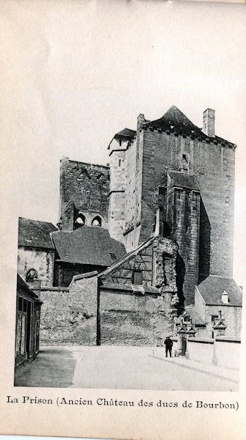 Photo de Moulins, Allier.La Prison, ancien Château des Duc de Bourbon