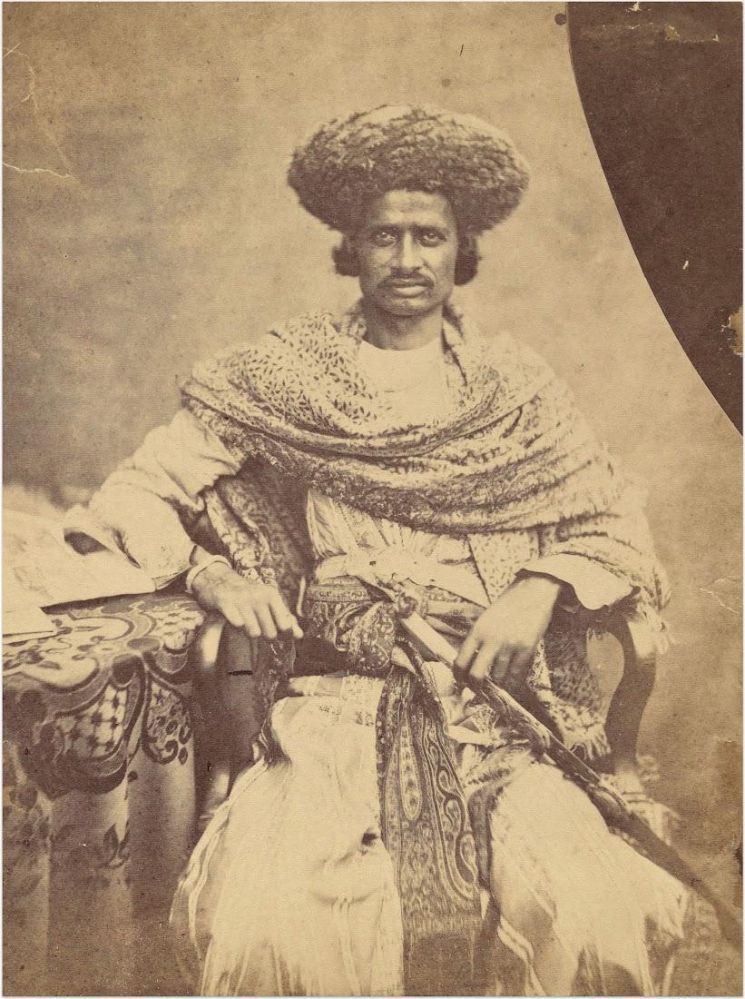 Portrait of Rahaj Mam Singh - c1850-60's
