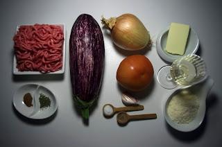 Rollitos de berenjena rellenos de carne - ingredientes