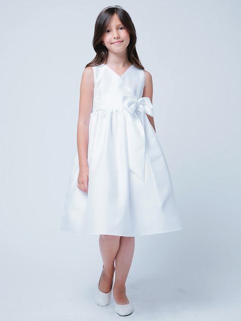 vestidos de primera comunion con chaleco