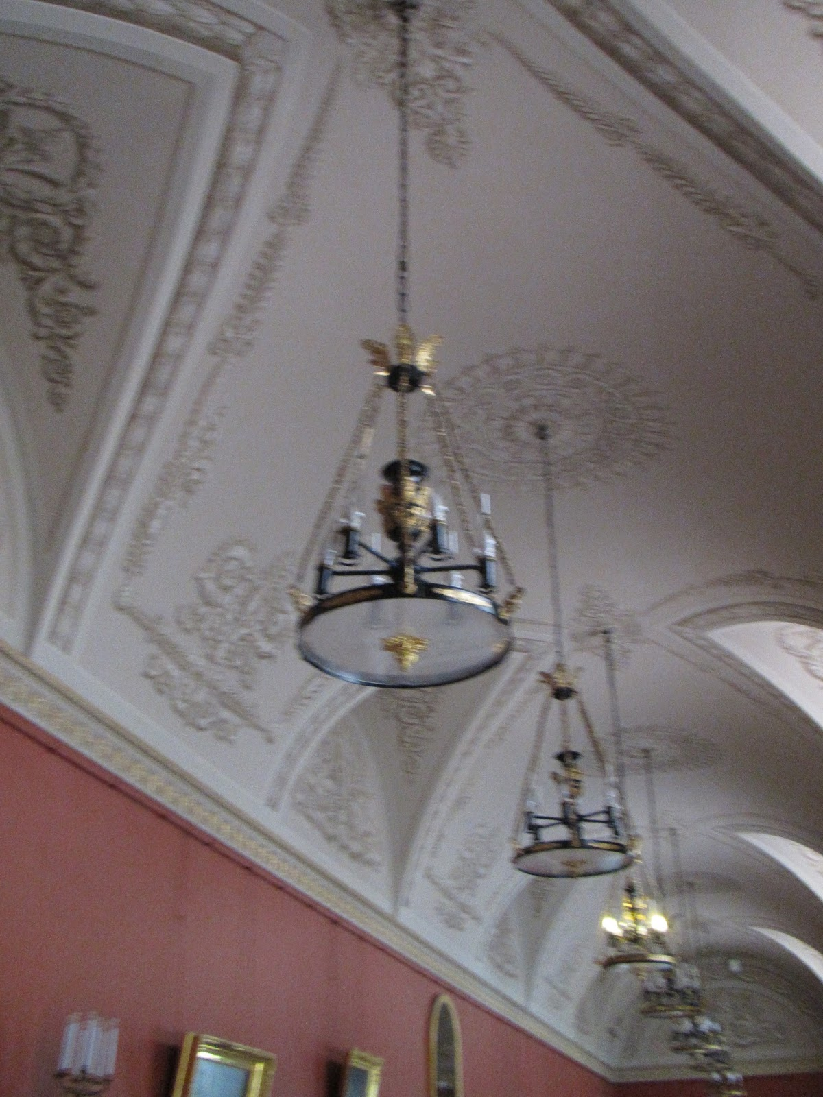 Chandeliers servants yusupov palace winter palace then stalin in art gallery walkway tailored chandeliers yusupov palace st petersburg russia arubaitofo Choice Image