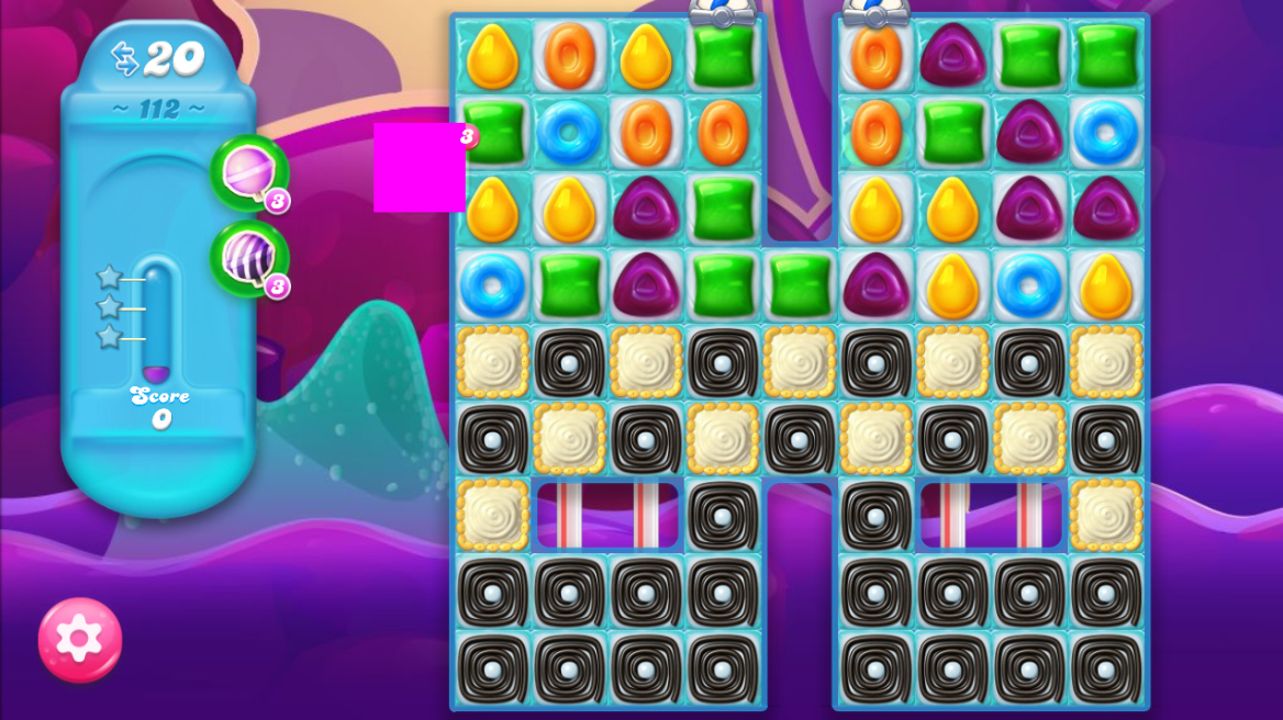Candy Crush Jelly Saga 112