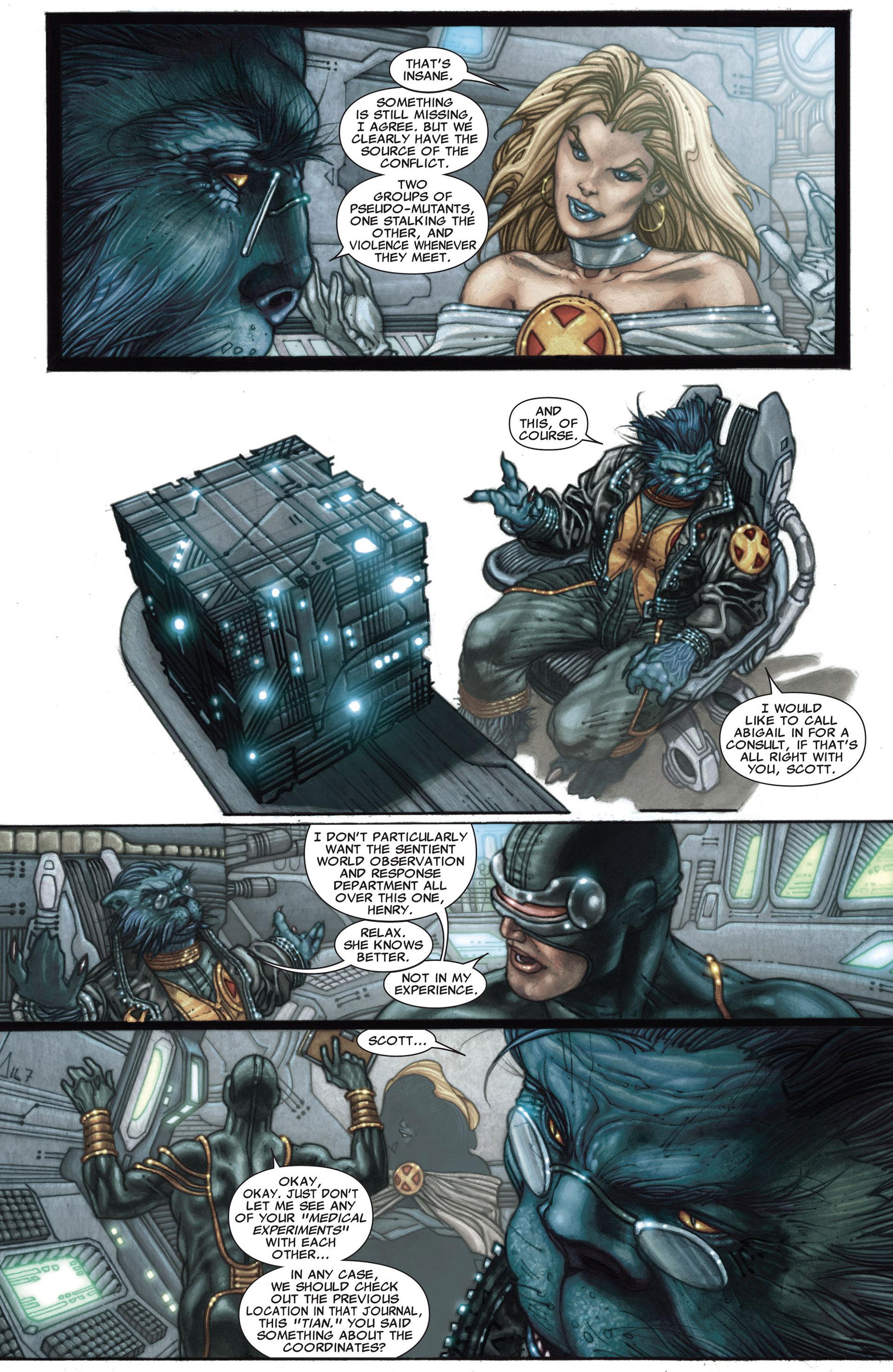 Read online Astonishing X-Men (2004) comic -  Issue #27 - 7