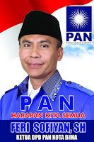 Syamsurih: PAN Kota Bima Siap Usung Kader Sendiri di Pertarungan Pilkada 2018