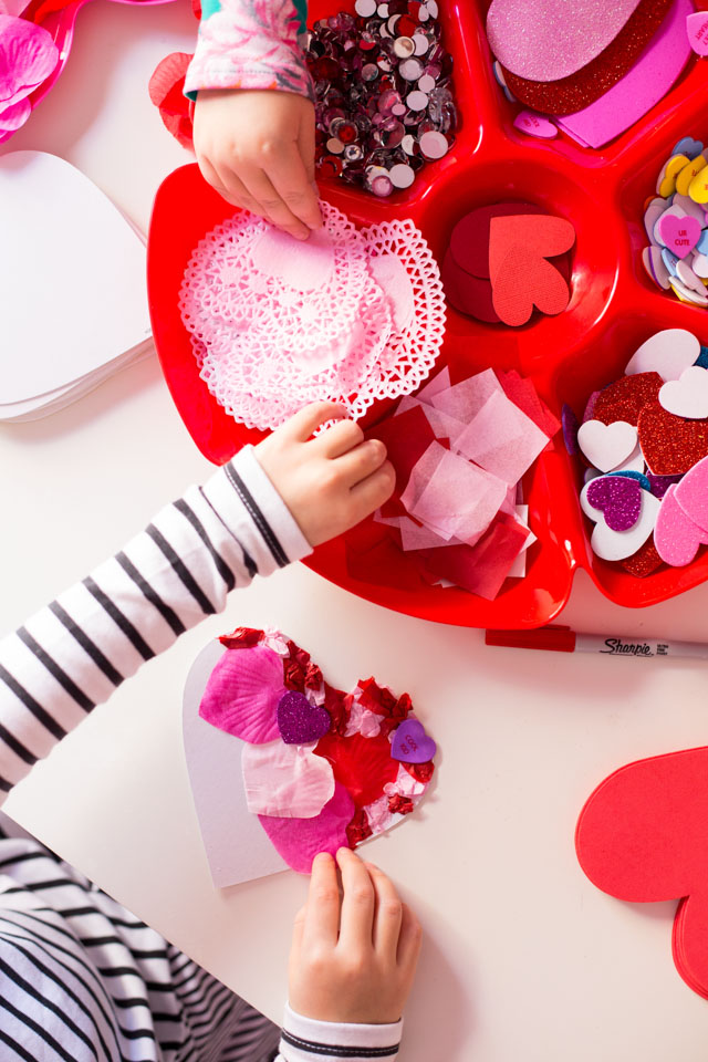 Make homemade Valentine cards with your kids this year!