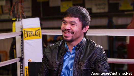 Manny Pacquiao habla de la Salvación en Jesucristo