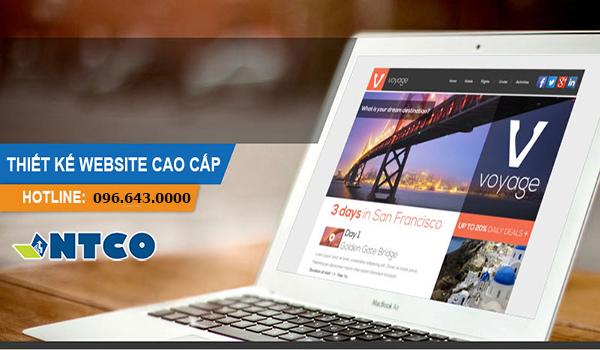 thiet ke website cao cap