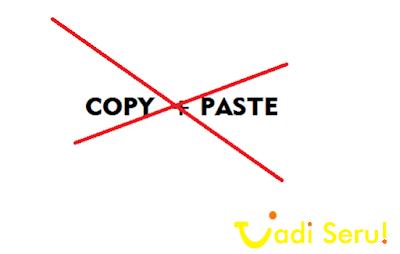 Apa Pengaruh Artikel Original dan Copy Paste?