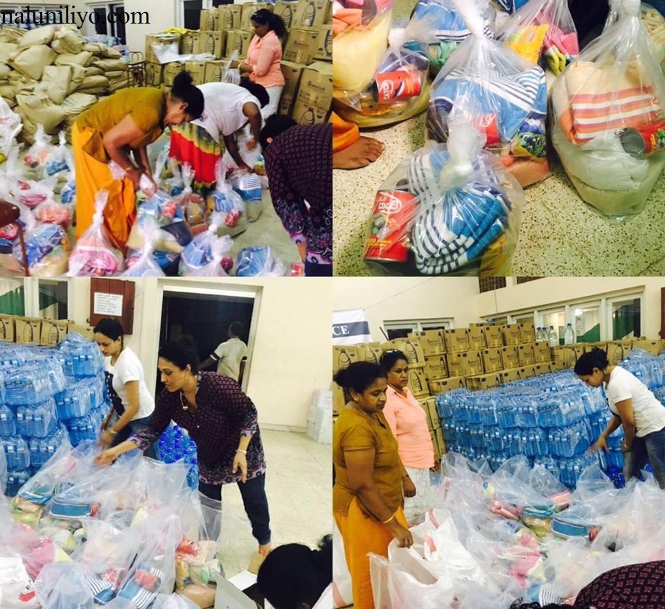 Janaki Wijerathne donates