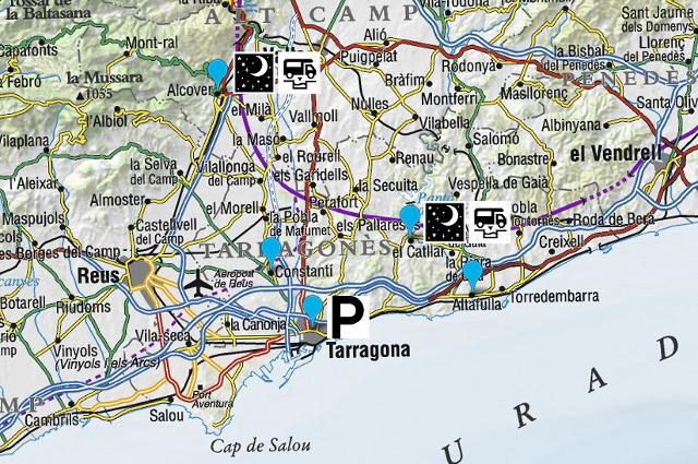 Etapes del nostre viatge amb autocaravana per Tarragona