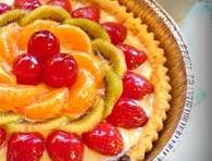 Gambar Fruit Pie Pudding Ukuran Besar