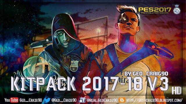Kitpack Season 2017-18 PES 2017