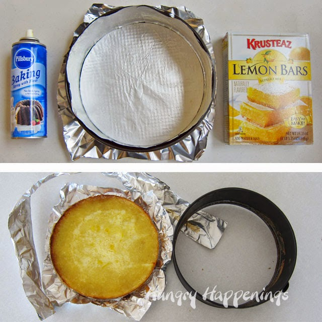 Lemon Bar Chick recipe { lilluna.com } A cute and delicious lemon bar with modeling chocolate and very festive!!
