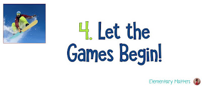 """Academic Winter Sports Team Building: Here's a chance to take the """"Olympic Buzz"""" and bring it into the classroom for team building as well as fun academics!"""
