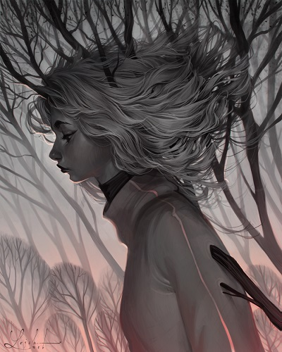 ilustración por Loish | creative emotional illustration art drawings, cool stuff, pictures, deep feelings, sad | imagenes chidas imaginativas bonitas bellas, emociones y sentimientos, depresion
