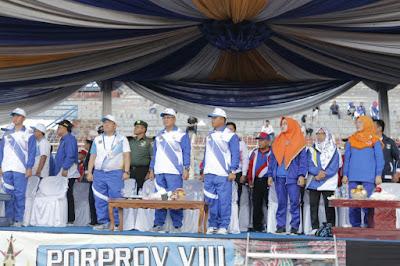 Penutupan Porprov VIII 2017, Gubernur Ridho Minta Jangan Ada Kata Lelah Lahirkan Juara