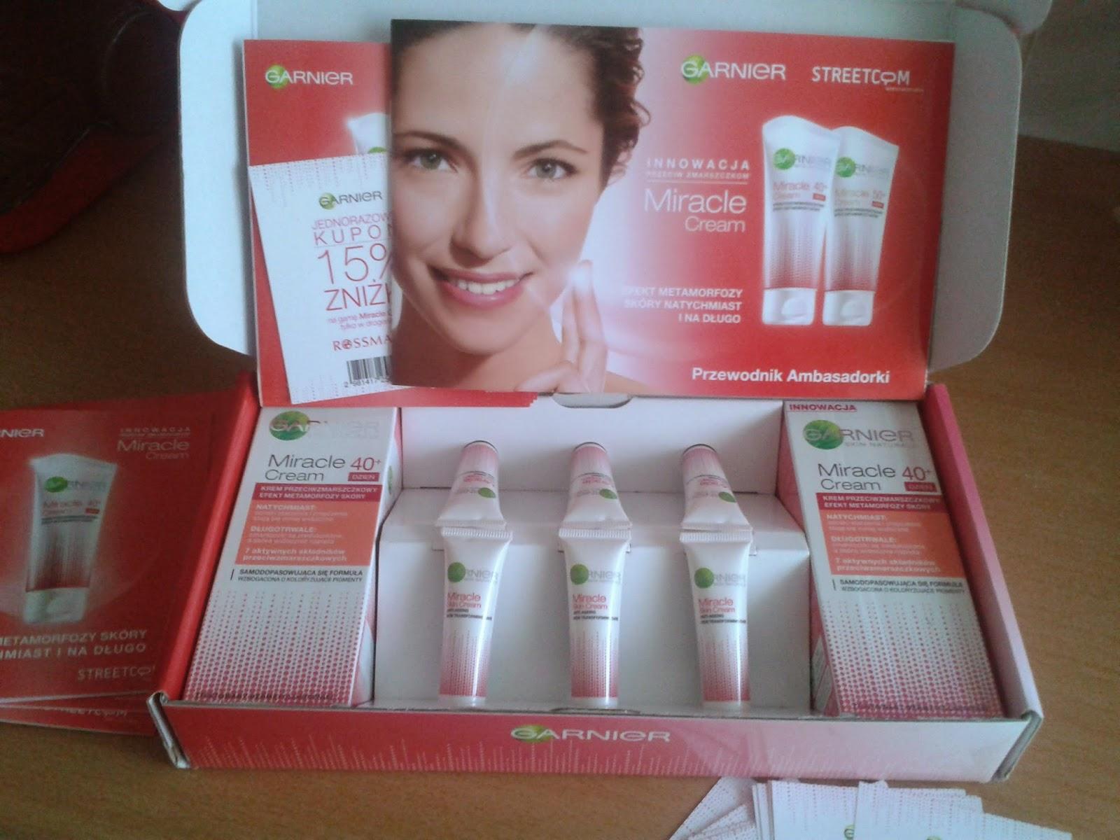 Kampania Streetcom Garnier Miracle Cream