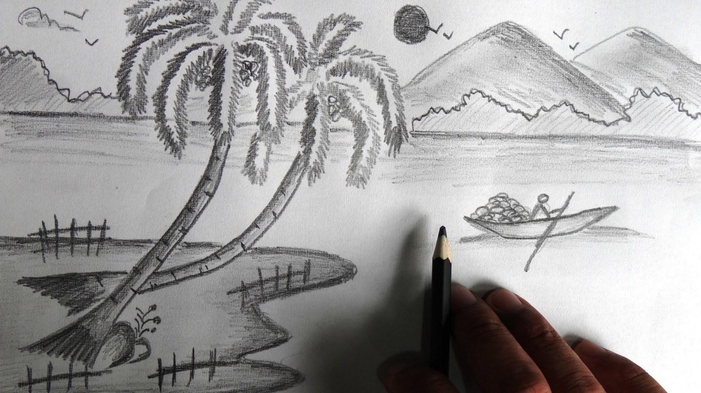 Saran Untuk Para Pemula Untuk Lukisan Pemandangan Alam Hijaukan