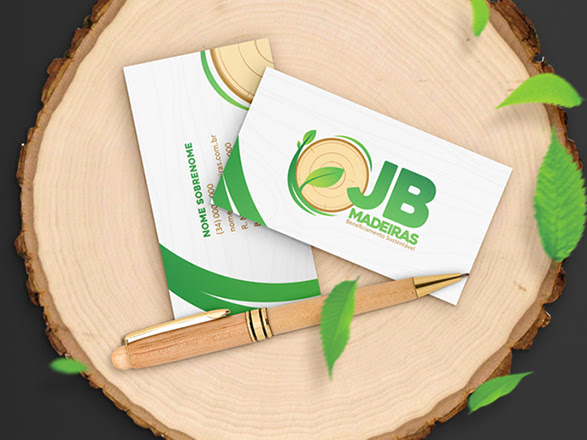 Download Brand Identity And Wooden Mockup Free