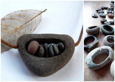 Hacer tus Collares con Piedras Perforadas