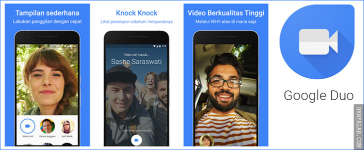 Google Duo : Aplikasi Video Call buatan Google