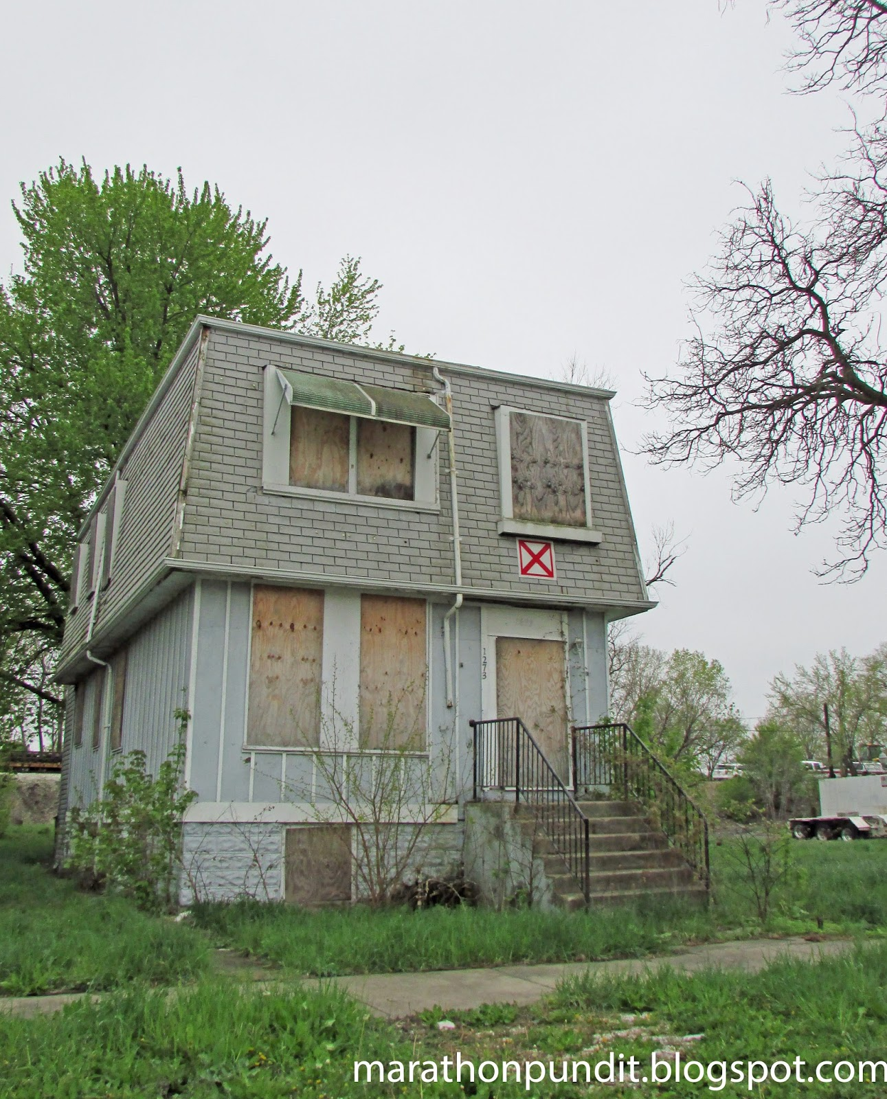Cheap Haunted Houses Chicago Il: Marathon Pundit: (Photos) The Abandoned Homes Of Chicago's