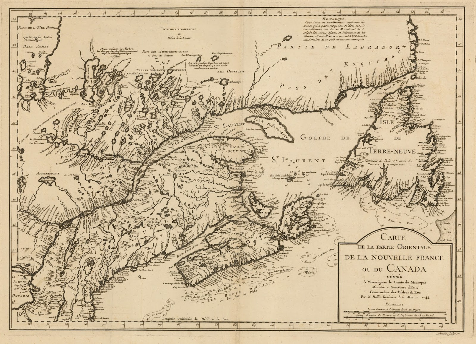 in the 1720s and 30s the main area of conflict between the french and british in north america concerned the region north of new england and south of the