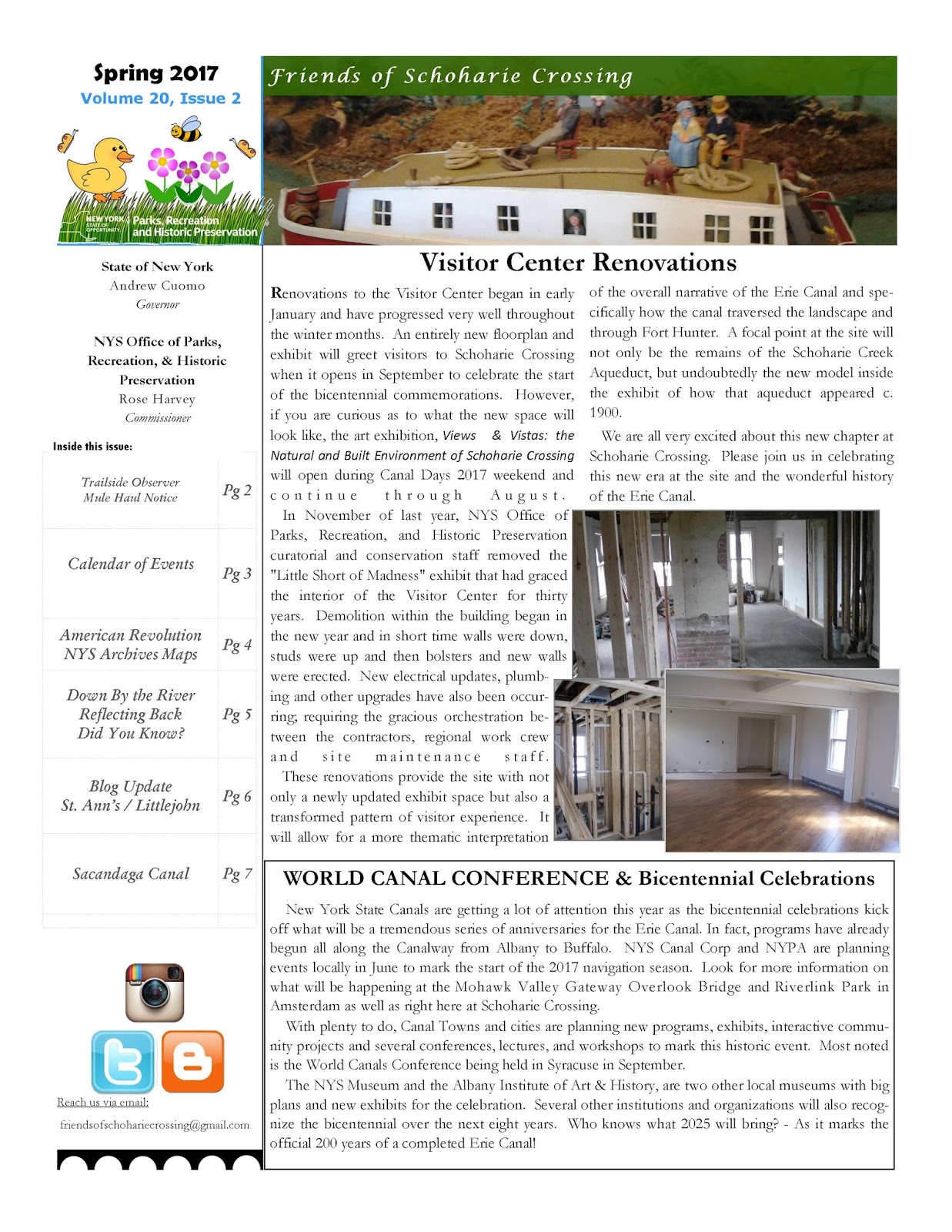Friends of schoharie crossing spring 2017 newsletter view in pdf by clicking here sciox Images