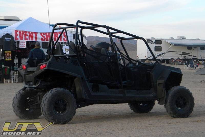 Four-Seat Polaris RZR XP 4 Spy Photos - UTV Guide