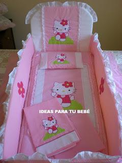 Juego de cuna Hello Kitty