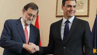 Mariano Rajoy, Pedro Sánchez, gobierno, elecciones, España