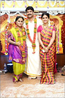 Actress Menaka  First Daughter Revathi Weds Nitin Mohan