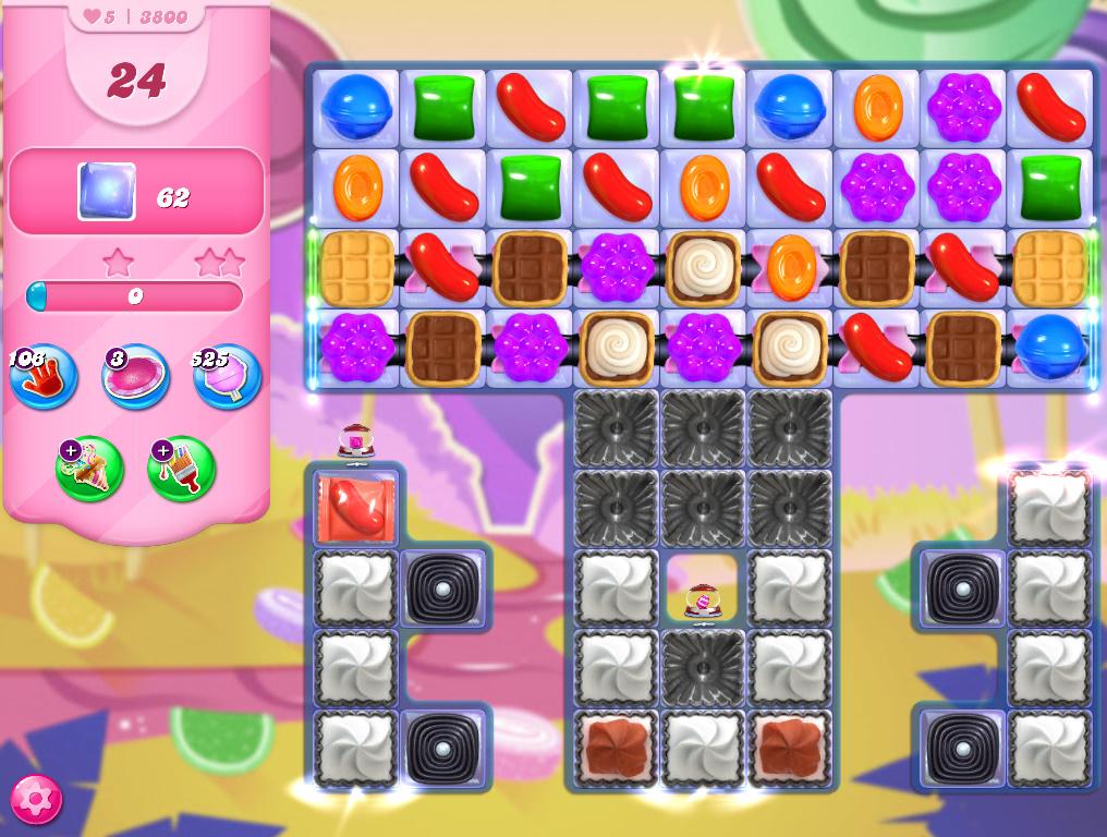 Candy Crush Saga level 3800