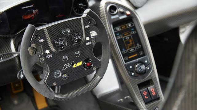 2017 McLaren P1 LM Interior