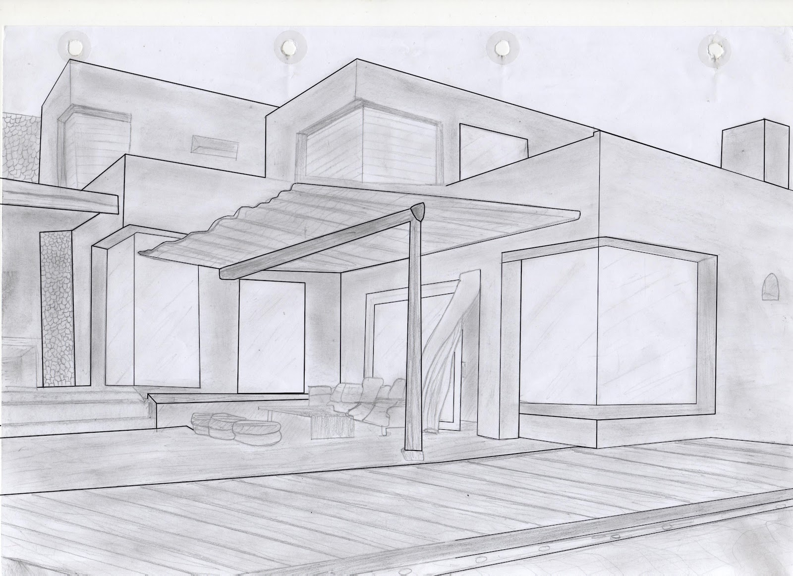 Dibujos Faciles De Ranchos Related Keywords Suggestions Dibujos