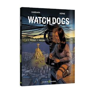 WATCH_DOGS, la bande-dessinée inédite signée Ubisoft
