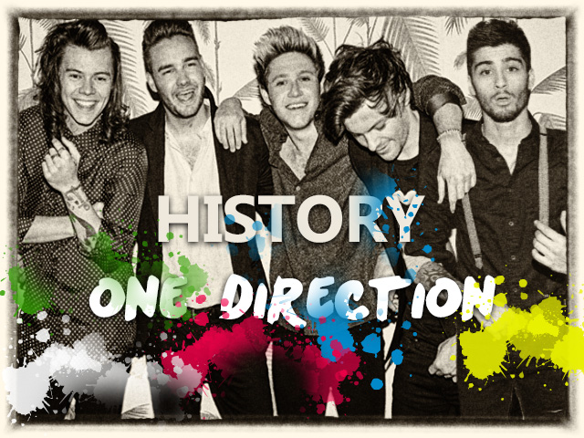 History One Direction Fan Made poster