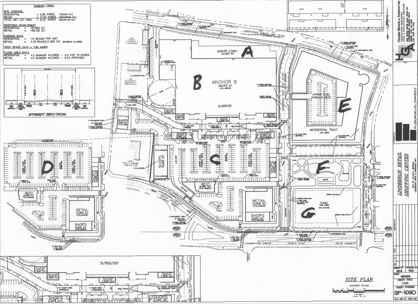 Buckheadviewcontroversial Lindbergh Area Planned Big Box
