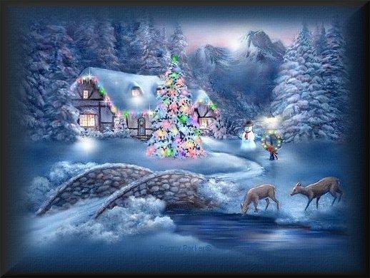 tarjetas postales navidad