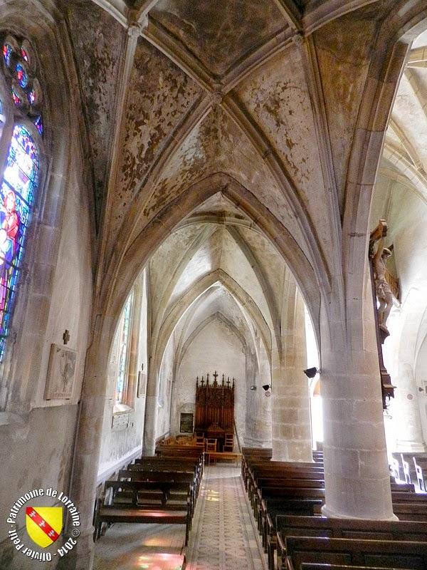 GIRMONT (88) - Eglise de la Nativité-de-Notre-Dame (intérieur)
